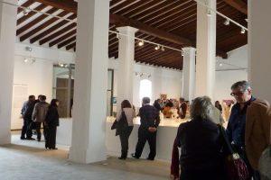 Mace Sala gran a l'exposició de Miquel Barceló